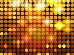 Shiny golden mosaic backgrounds