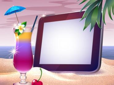 Summer Sunset Tropical