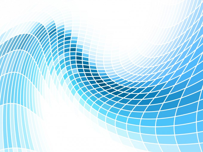 Abstract Blue Waves PPT Backgrounds