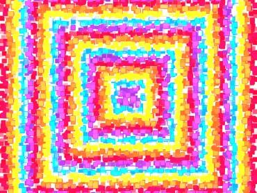 Concentric Squares Explosion