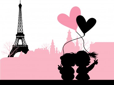 Love in Paris France
