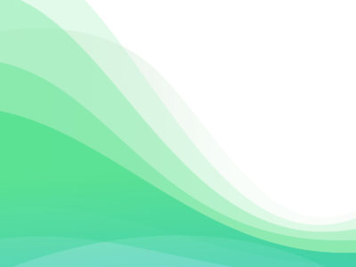 Background Template with Waves