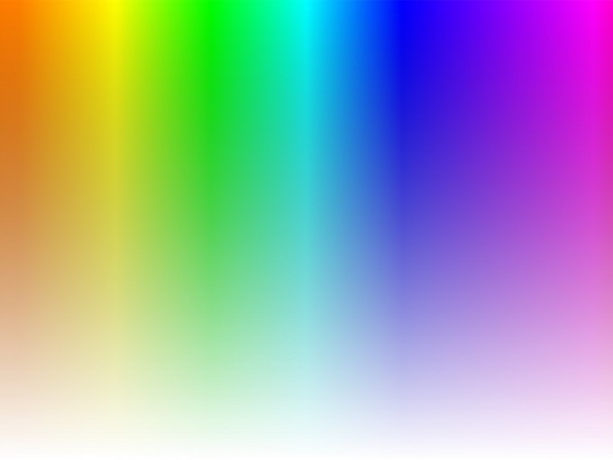 Hue and Saturation PPT Backgrounds