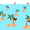 Islands Languages PPT Backgrounds