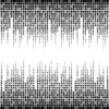 Black and White Equalizer Powerpoint Backgrounds