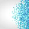 Blue polygonal backgrounds
