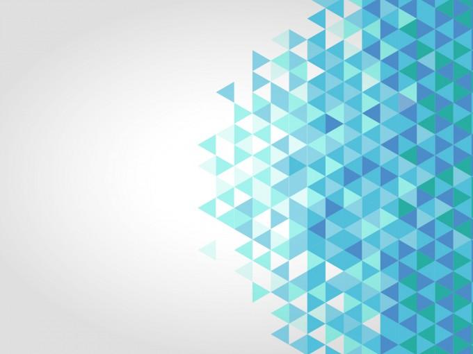 Blue polygonal PPT Backgrounds