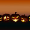 Evil Pumpkins Halloween Powerpoint Templates