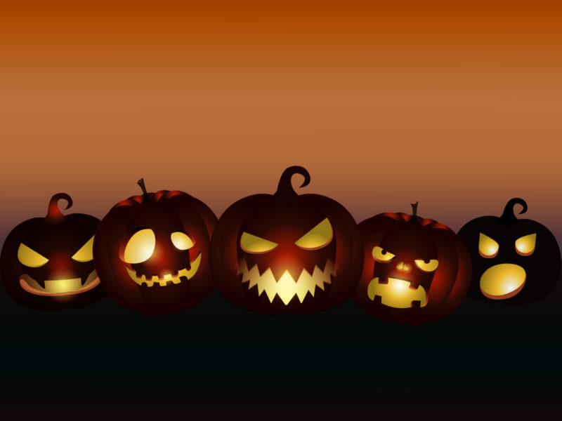evil pumpkins halloween backgrounds black cartoon games orange templates free ppt. Black Bedroom Furniture Sets. Home Design Ideas