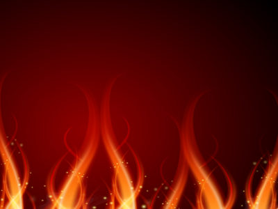 Fire Effect PPT Backgrounds