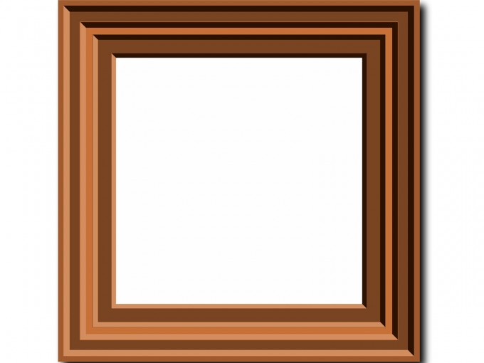 A Photo Frame PPT Backgrounds