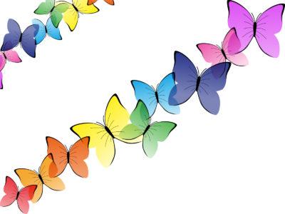 Beautiful Butterflies PPT Backgrounds
