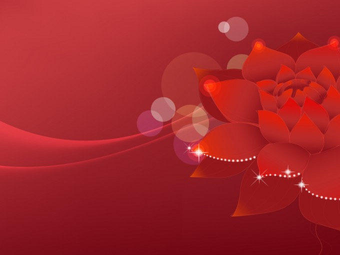 Lotus Flowers Dream PPT Backgrounds