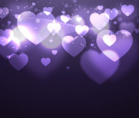 Shiny Hearts Powerpoint Backgrounds