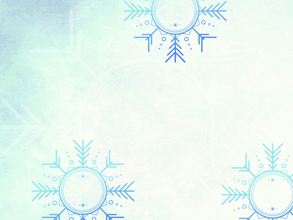 winter wonder land ppt backgrounds - blue, cartoon, christmas, Powerpoint templates