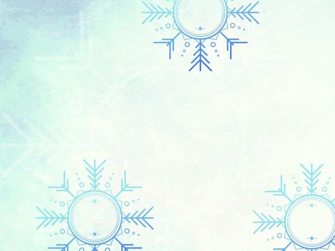 Winter Wonder Land PPT Backgrounds