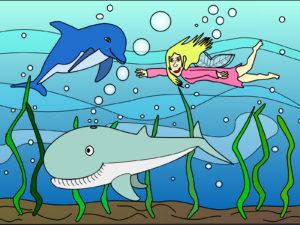 Fantasy Aquarium PPT Backgrounds