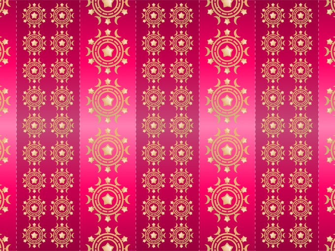 Fuschia Pattern PPT Backgrounds