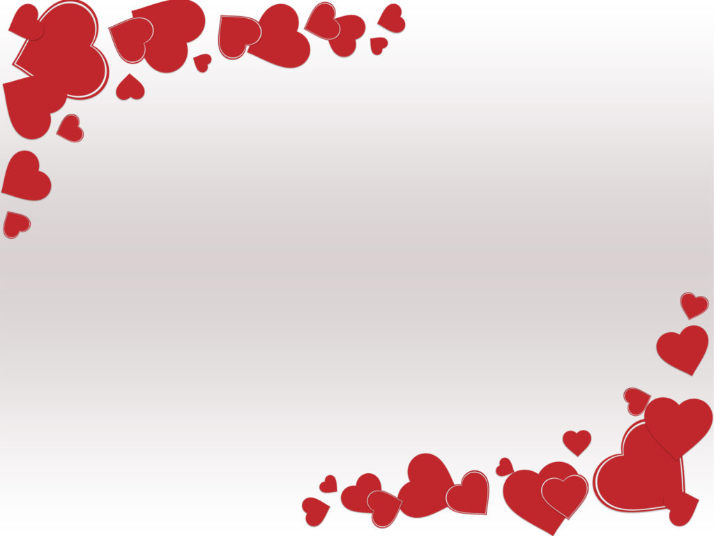 grunge valentine day ppt backgrounds - love, red, white templates, Powerpoint templates