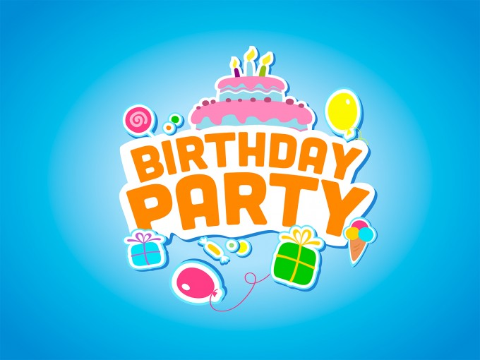 Happy Birthday Party PPT Backgrounds