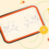 Cool Floral Frame Backgrounds