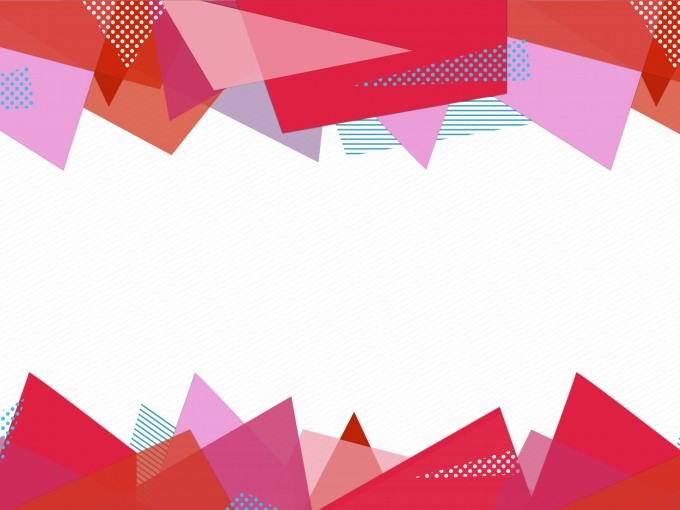 Stationery Paper Triangles PPT Backgrounds