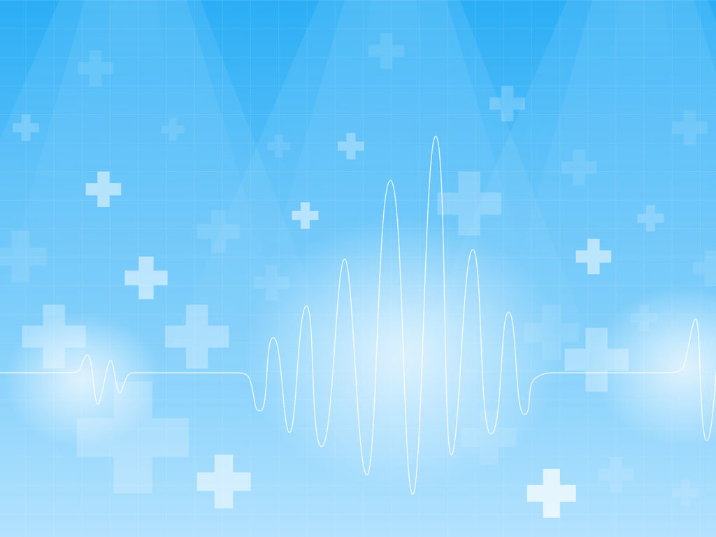 cardiogram on a blue backgrounds blue health medical