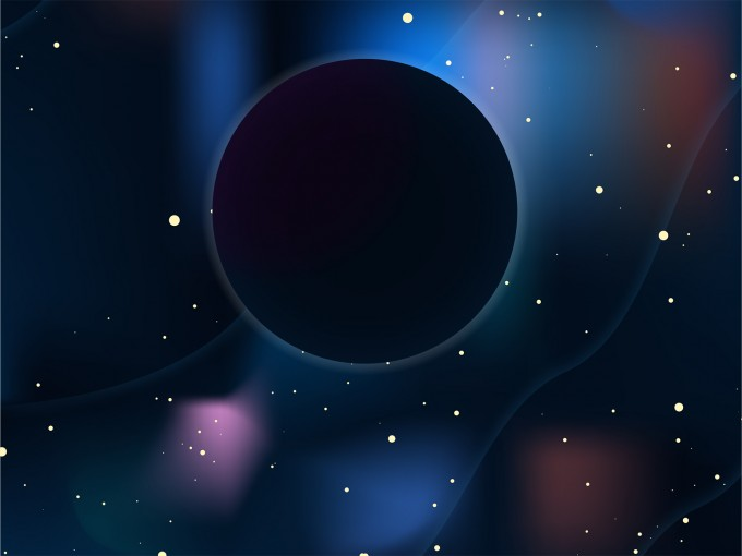 Galaxy Black Hole PPT Backgrounds