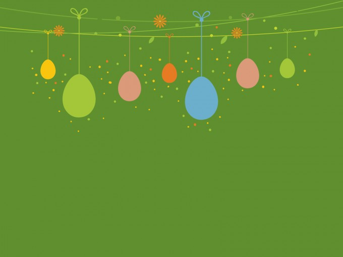 Sweet Easter Day PPT Backgrounds