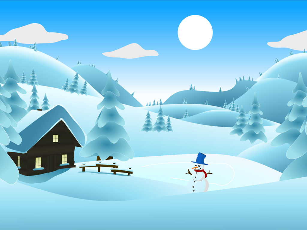 Winter landscape backgrounds powerpoint templates free ppt medium size preview 1024x768px winter landscape backgrounds toneelgroepblik Images