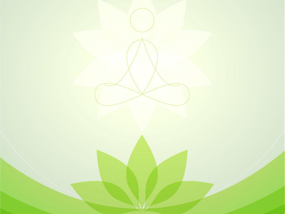 Yoga center backgrounds green sports white templates free ppt yoga center ppt backgrounds toneelgroepblik