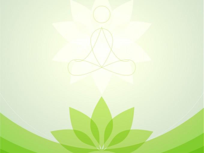 Yoga Center PPT Backgrounds