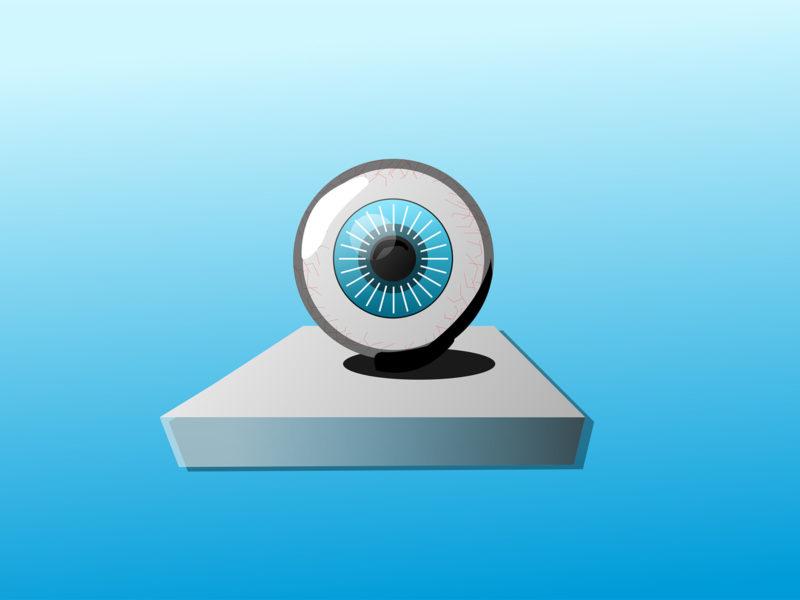Blue Eye PPT Backgrounds