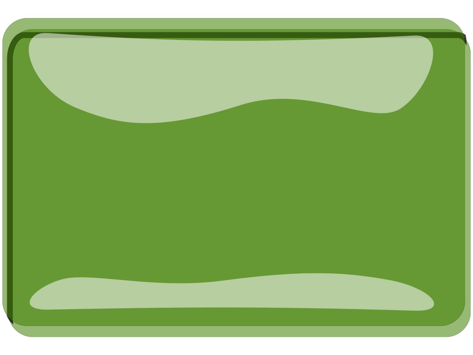 Green button ppt backgrounds cartoon green technology - Green button ...
