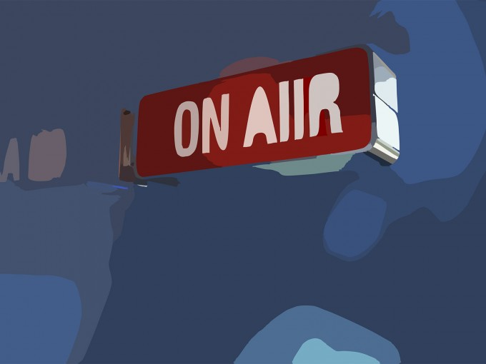 On Air PPT Backgrounds