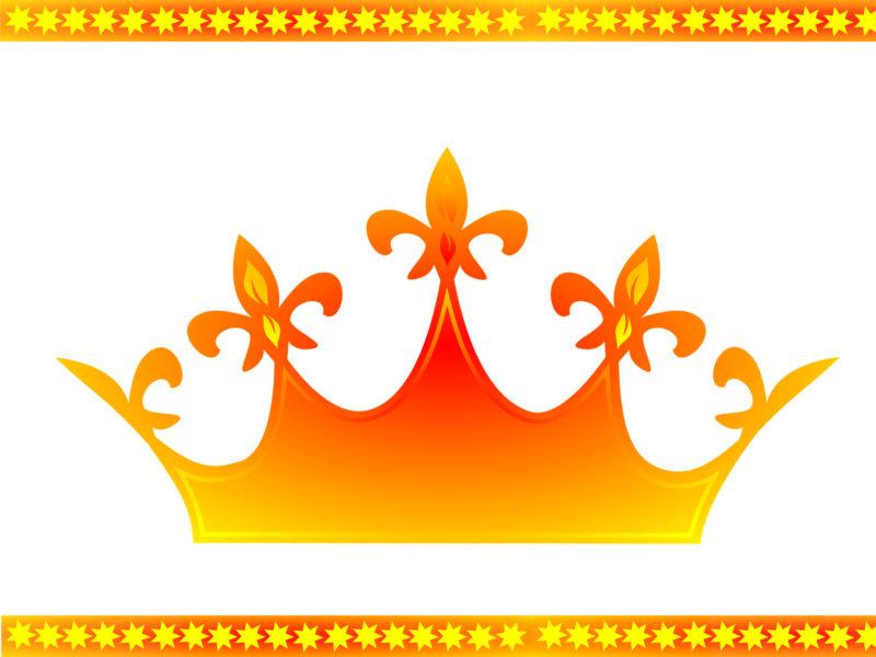 Queen Crown Powerpoint Backgrounds