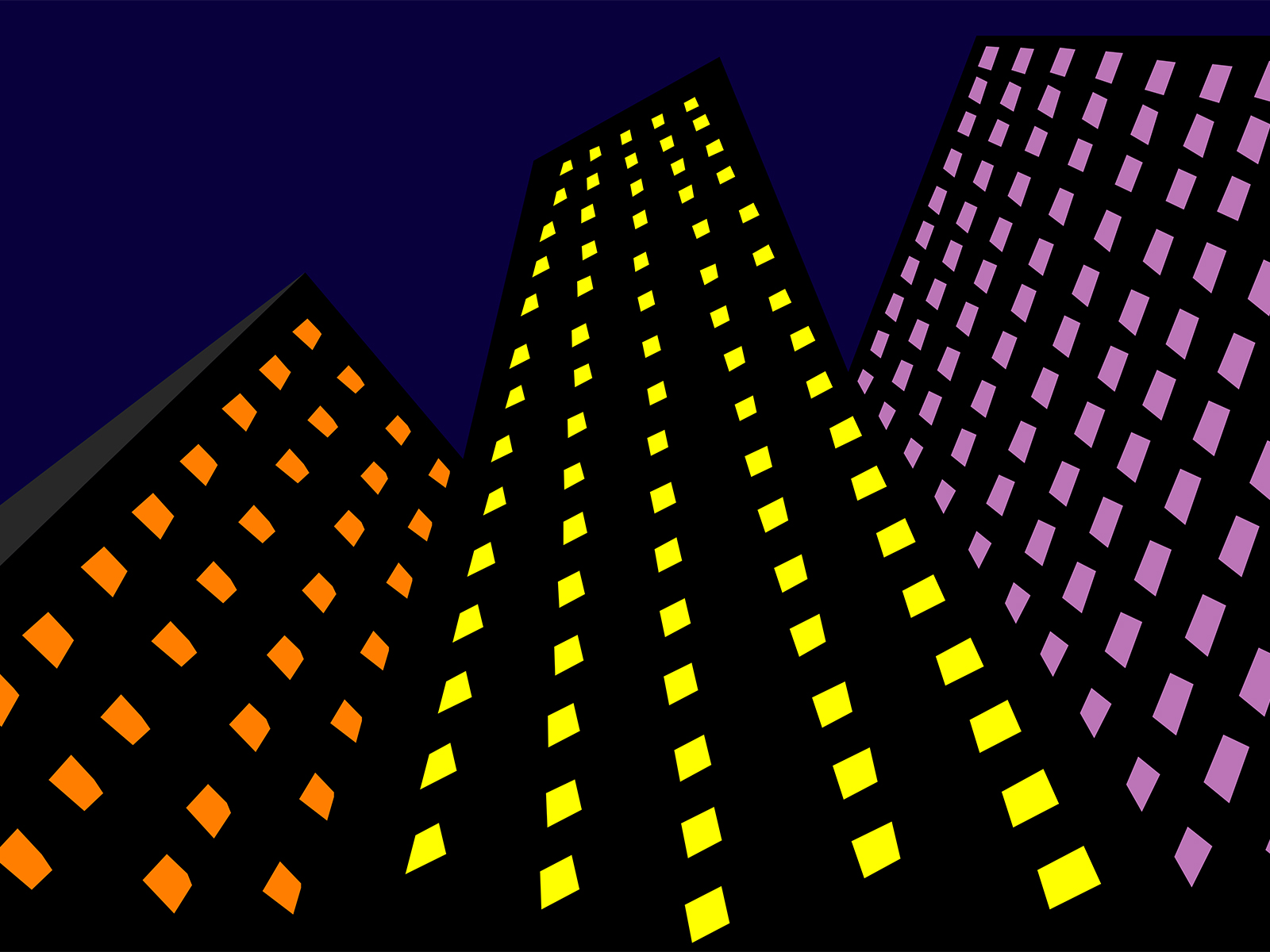 Skyscrapers in the Dark Backgrounds