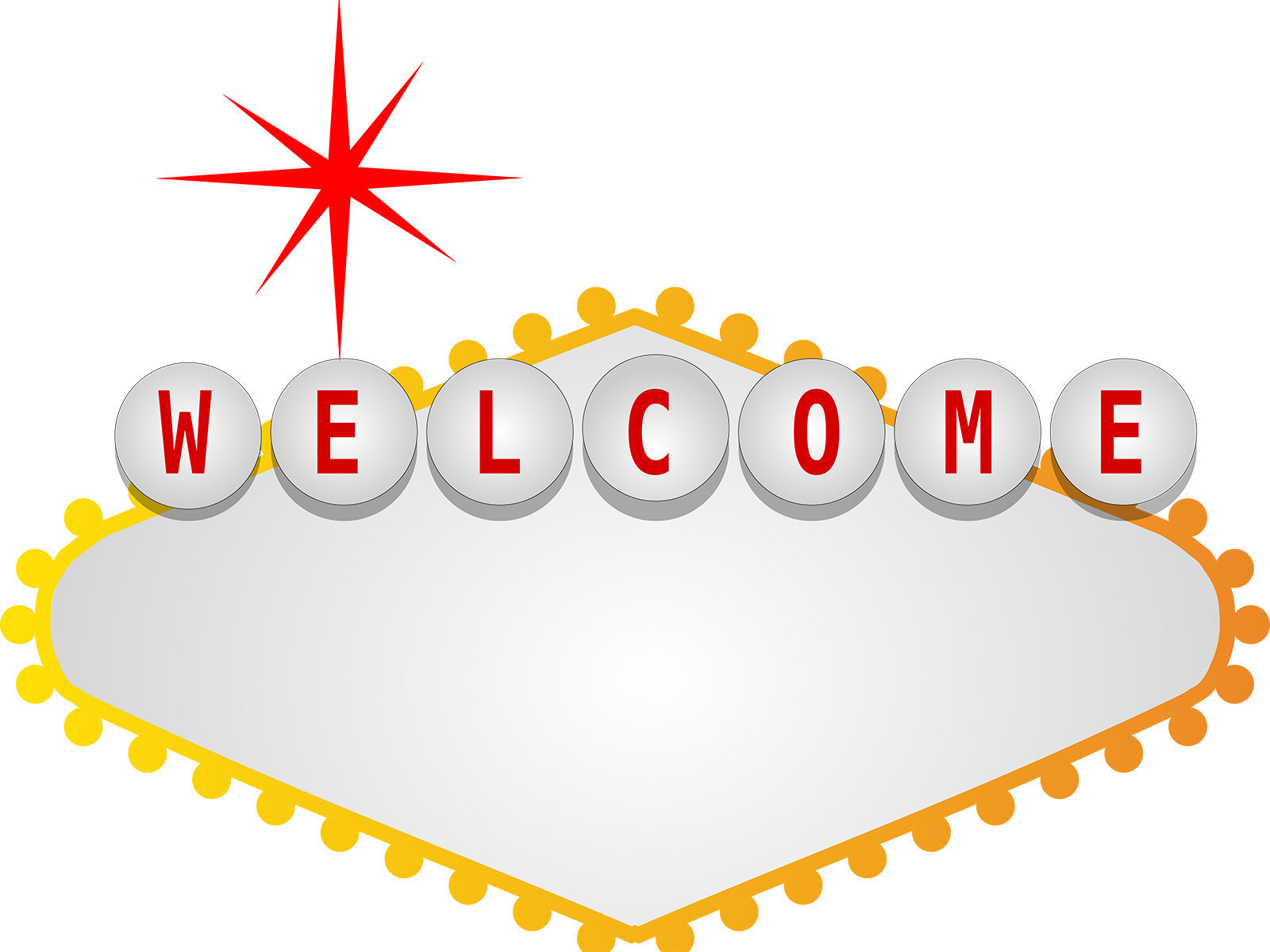 welcome backgrounds 3d border frames white yellow
