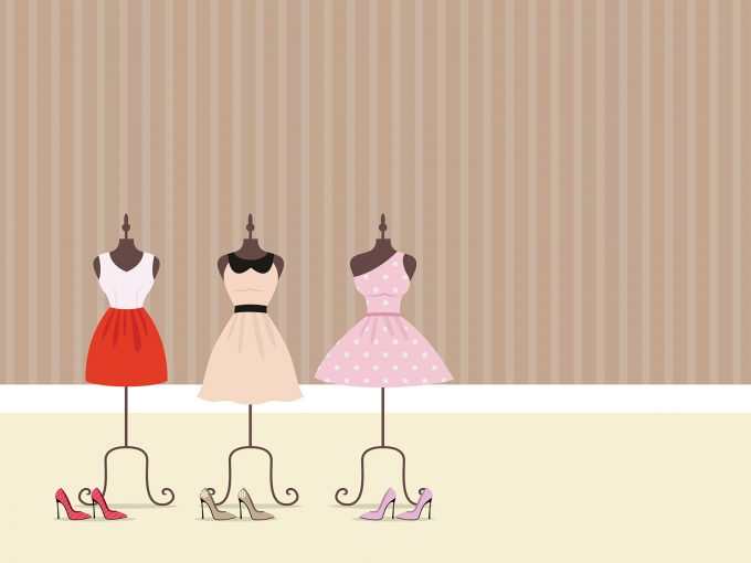 Dresses Clothing PPT Backgrounds