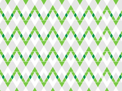 Green Zigzag PPT Backgrounds