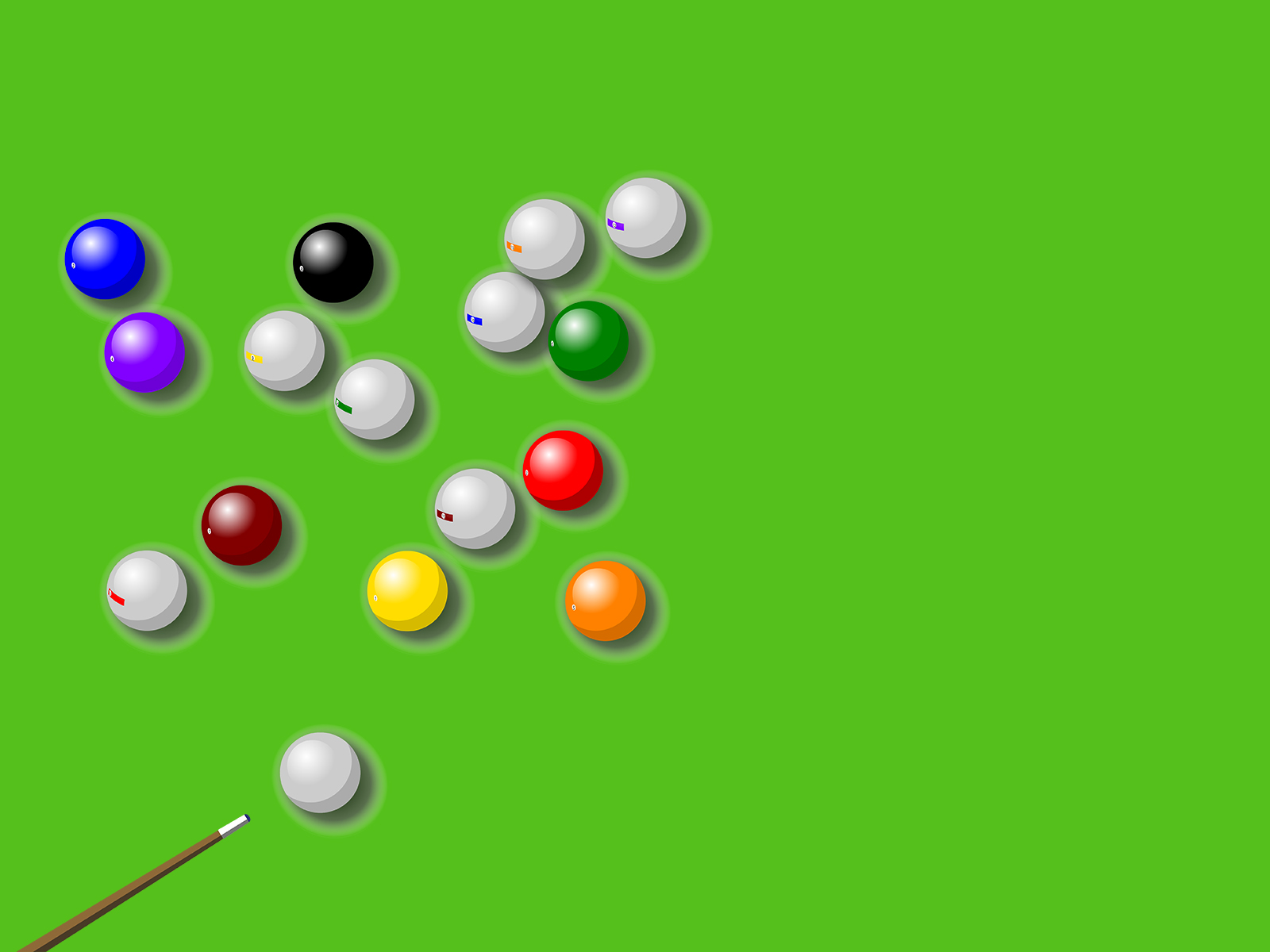 Pool Billard PPT Backgrounds