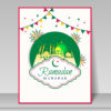 Ramadan Greeting Card Backgrounds