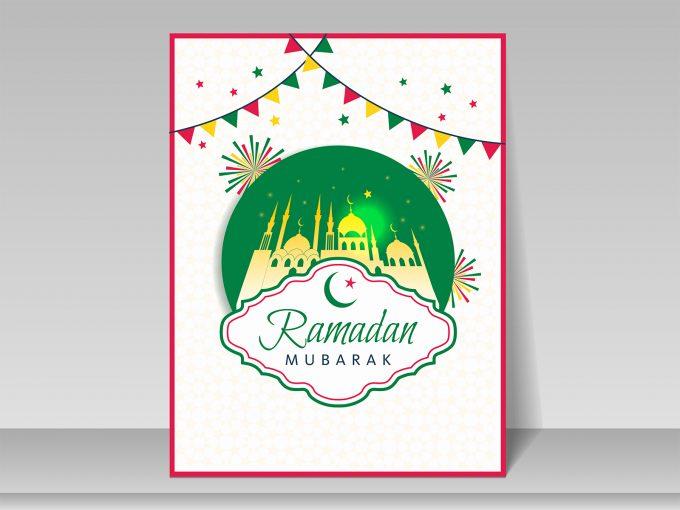 Ramadan Greeting Card PPT Backgrounds