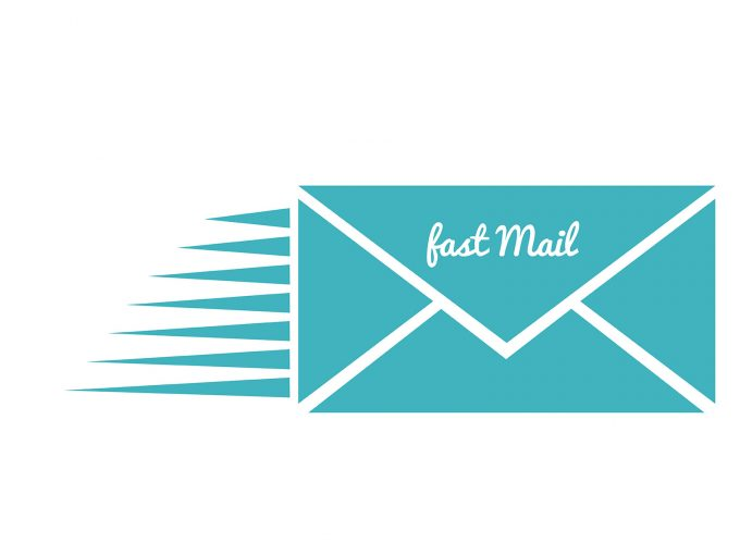 Fast Mail PPT Backgrounds