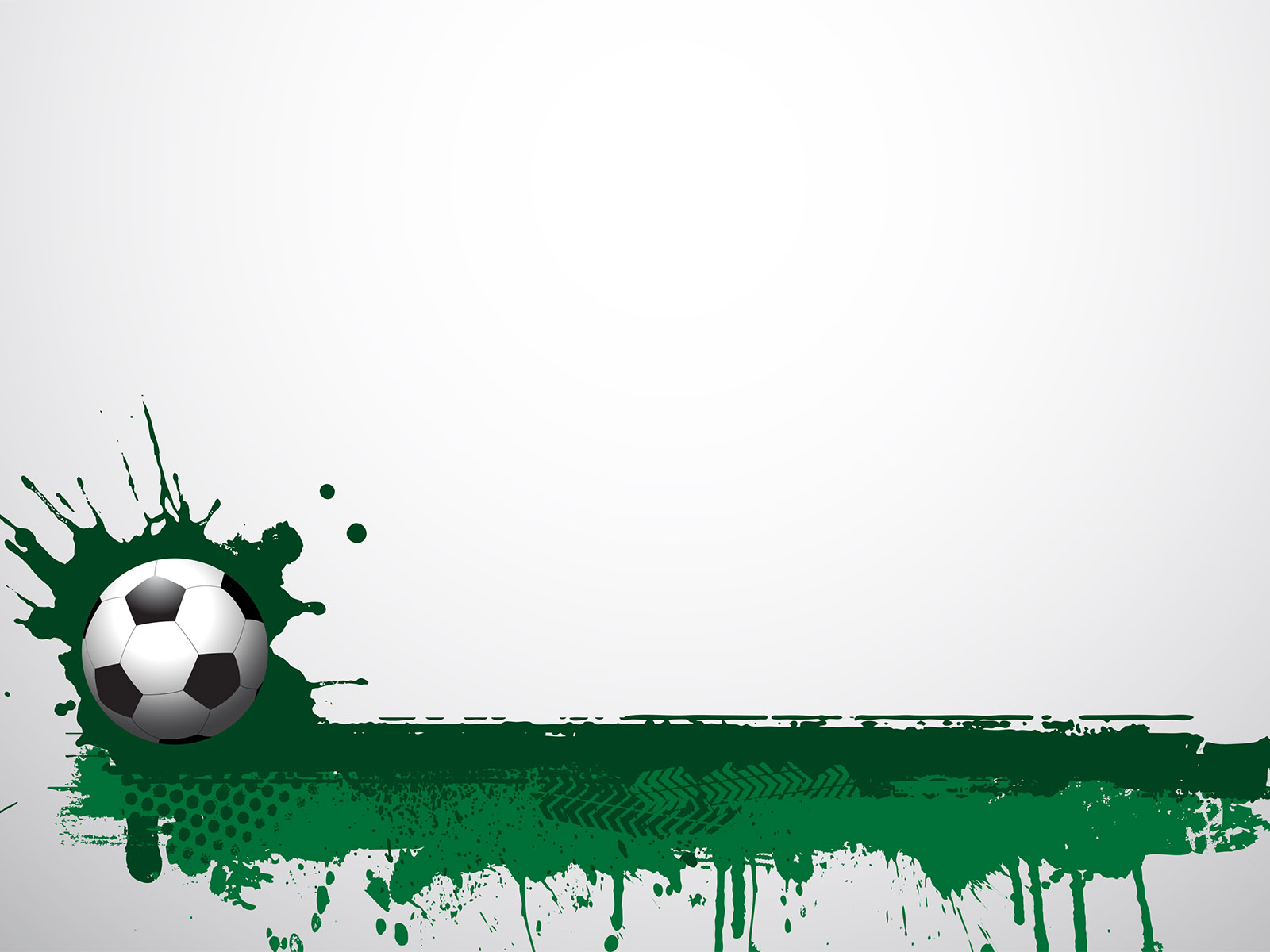 Football Grunge Ppt Backgrounds Green Sports Templates