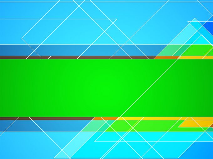 Green and blue PPT Backgrounds