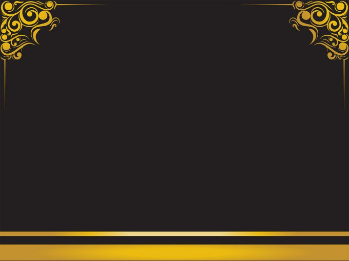 Luxury Frame PPT Backgrounds
