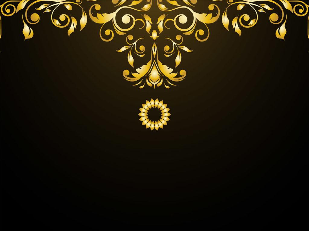 Luxury ornaments backgrounds black border frames yellow medium size preview 1024x768px luxury ornaments backgrounds toneelgroepblik Images