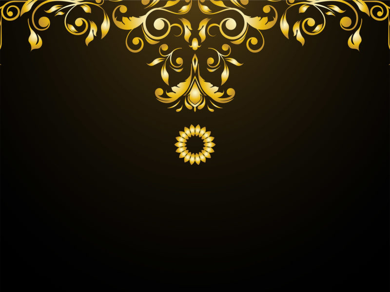 Luxury Ornaments PPT Backgrounds