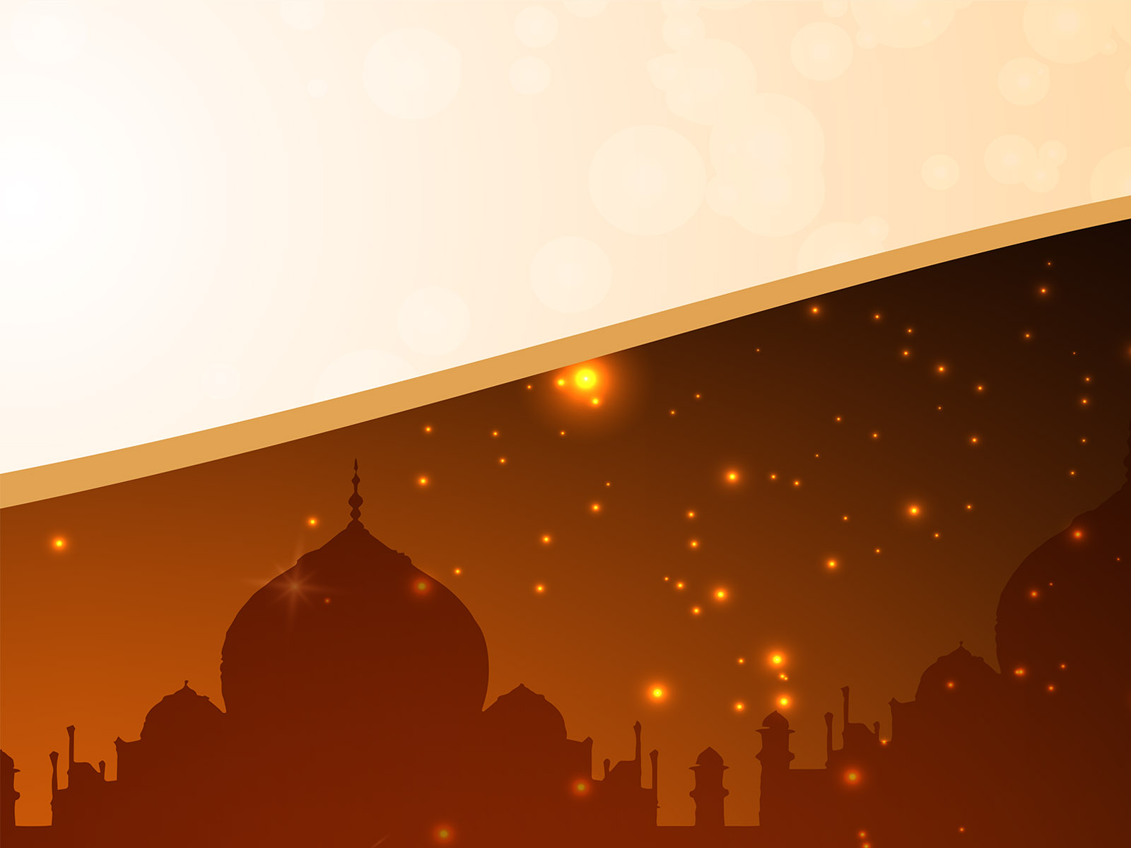 ramadan eid al-fitr ppt backgrounds - religious templates - ppt, Powerpoint templates
